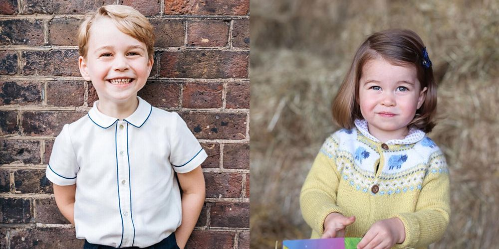 How Prince George's Birthday Portraits Are Different Than Princess Charlotte's