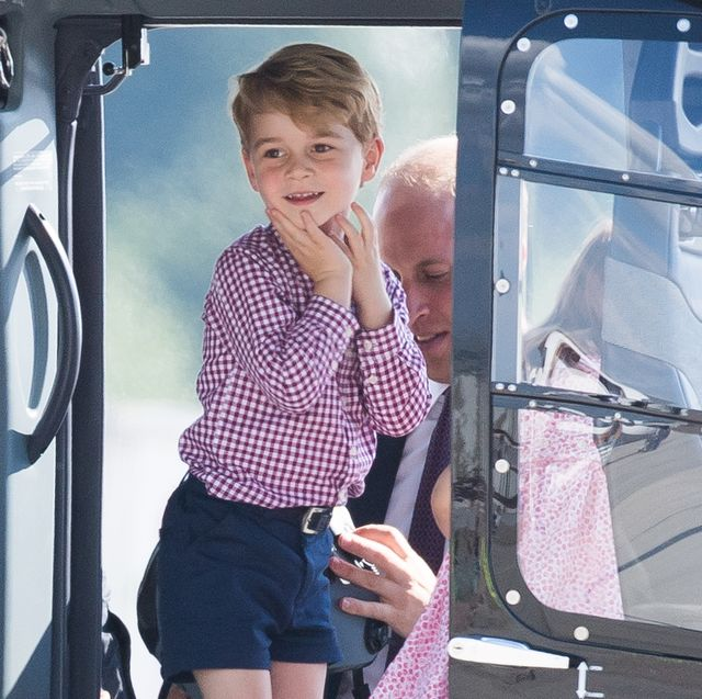prince george's godmother shared what he's really like and pays tribute to diana through the gifts she buys