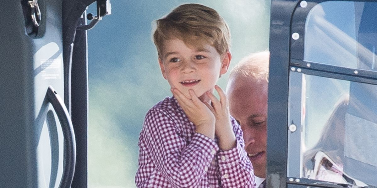 Prince George's godmother shared what he's like at home