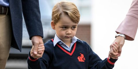 Prince George first day at school photo