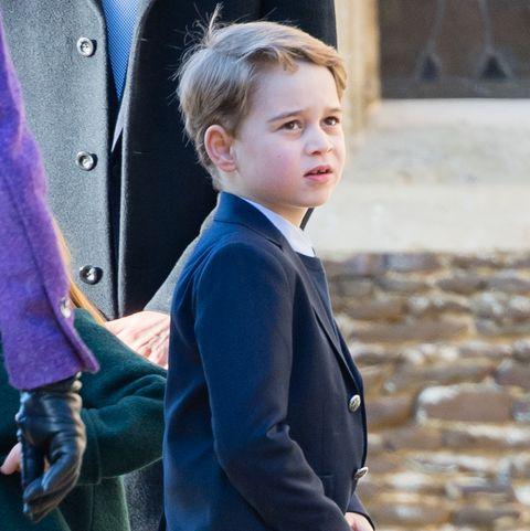 Prince George, royal family portrait