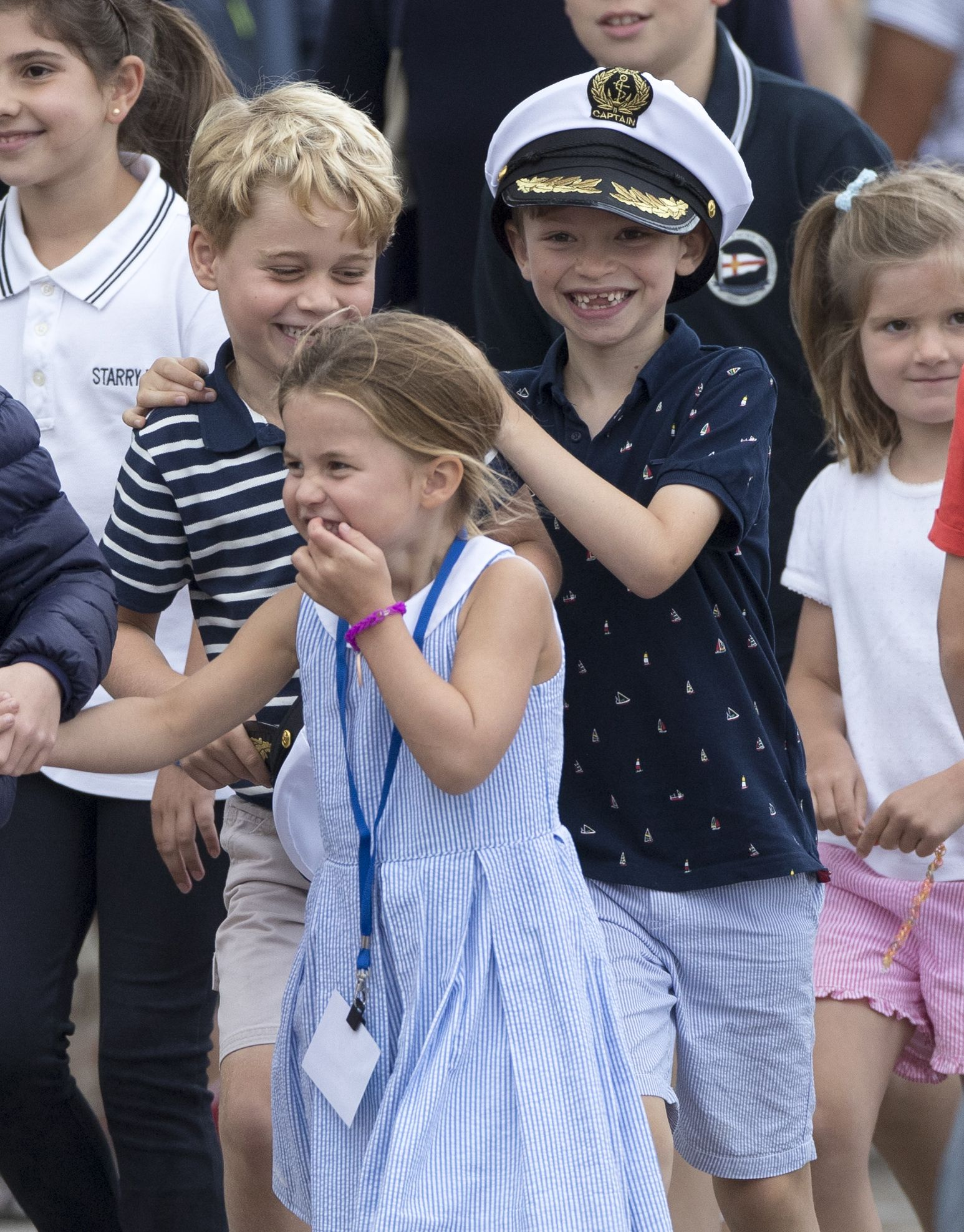Why Princess Charlotte Is Much More Outgoing Than Prince George