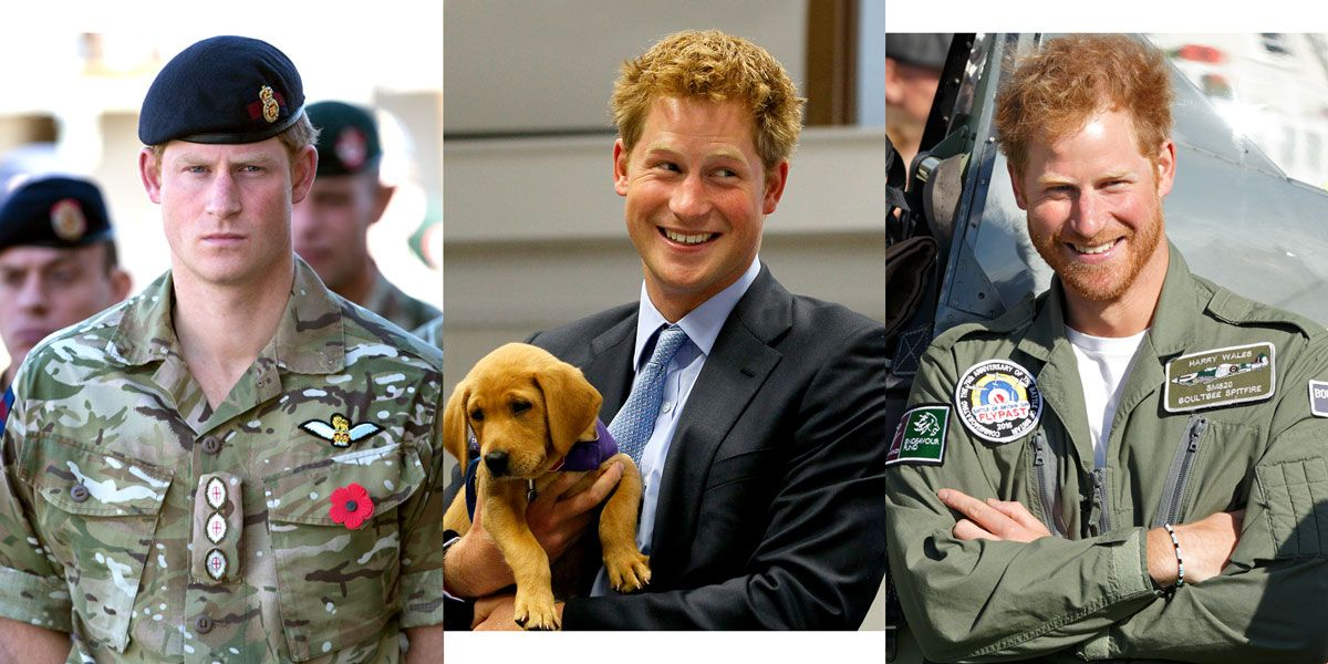 Literally Just 35 Hot Hot Hot Pictures of Prince Harry