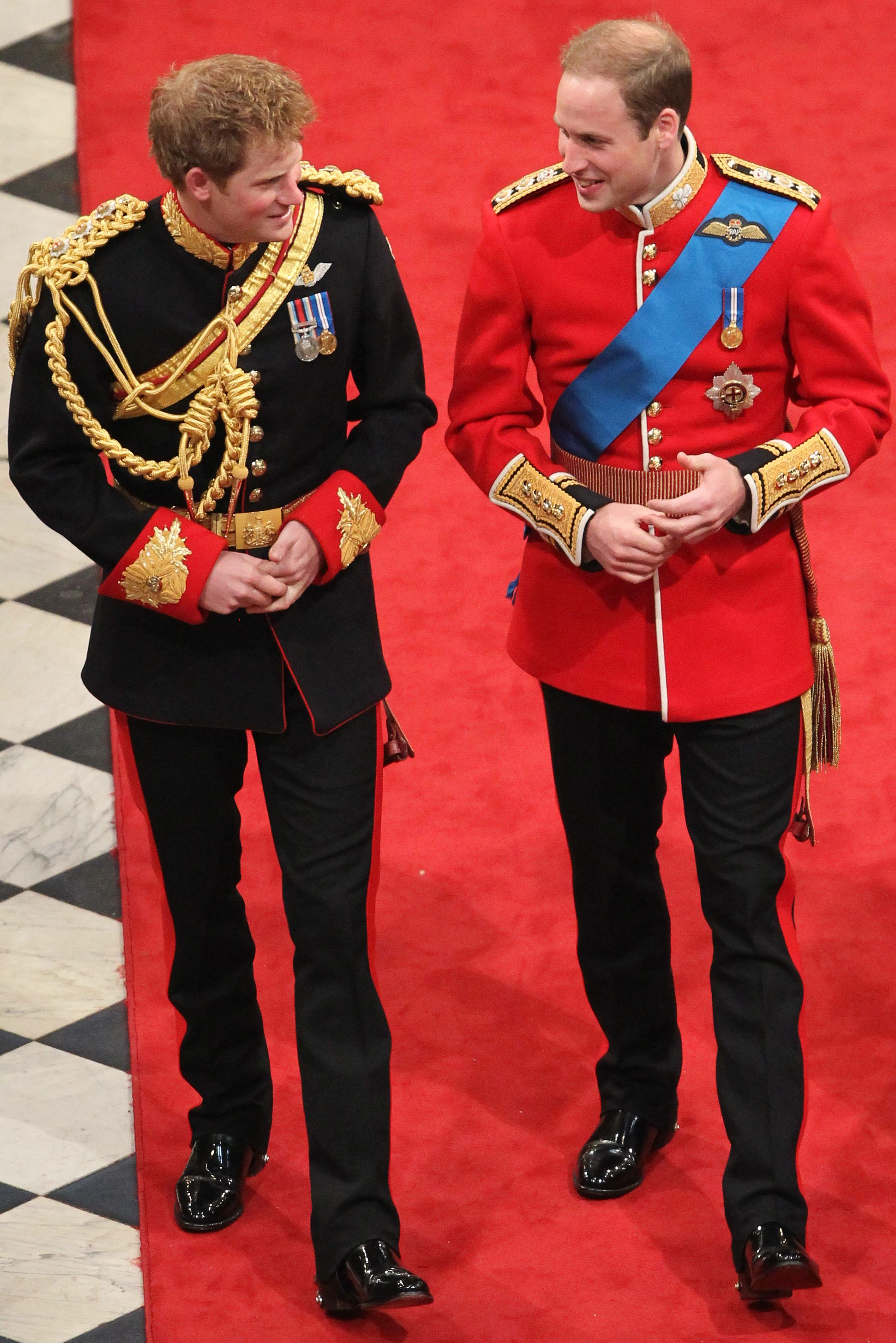 prince harry prince william kate middleton royal wedding 2011