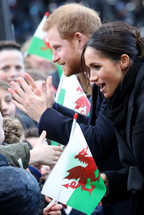 Prince Harry And Meghan Markle wales