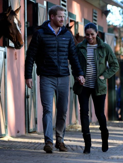 31f5f367426 Meghan Markle Visits Moroccan Federation of Equestrian Sports with ...