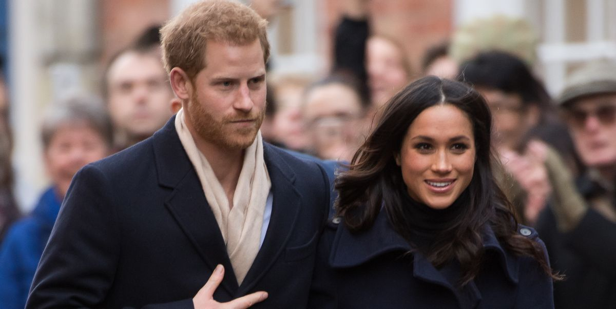 Meghan Markle Wore a J. Crew Coat On a Rare Outing With Prince Harry