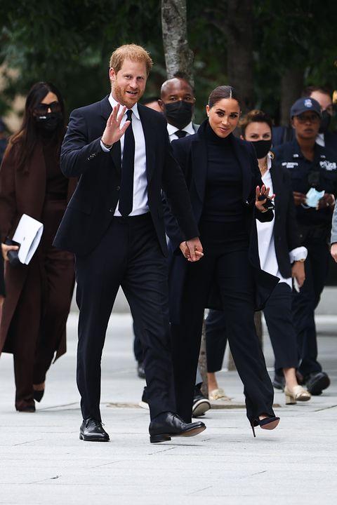 Prince Harry and Meghan Merkel visited NYC