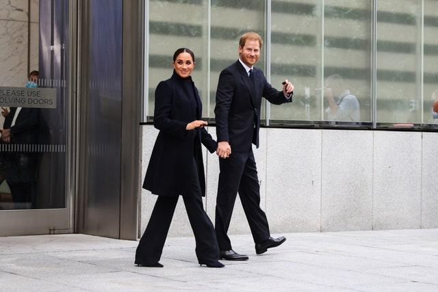 prince harry and princess megan visit nyc