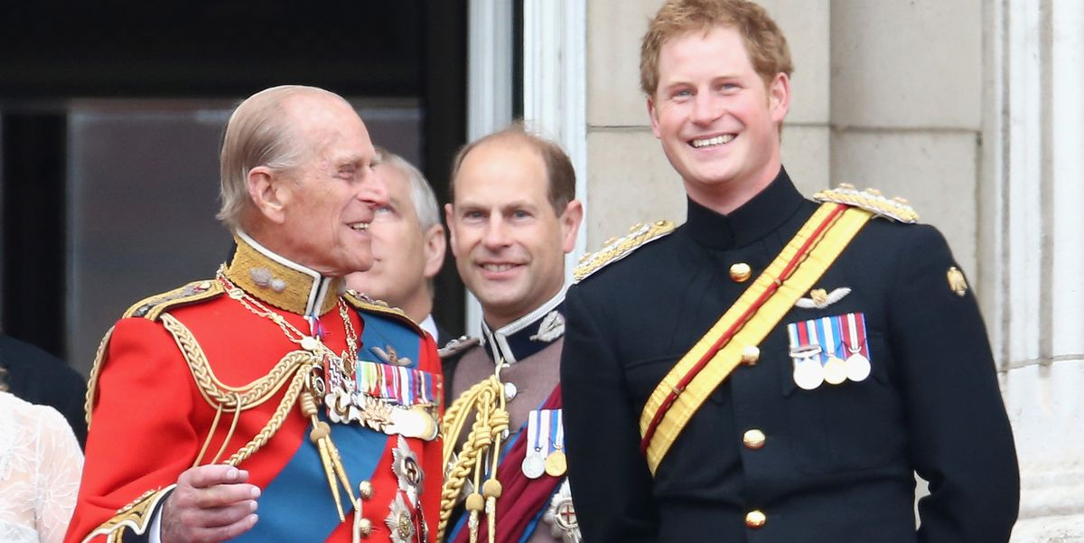 The Sweetest Photos of Prince Philip and Prince Harry Through the Years