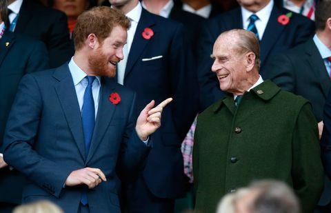 菲利普親王 去世 哈利王子