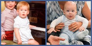 prince harry baby archie look like dad