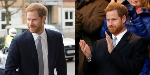 Prince Harry attended an event solo this weekend
