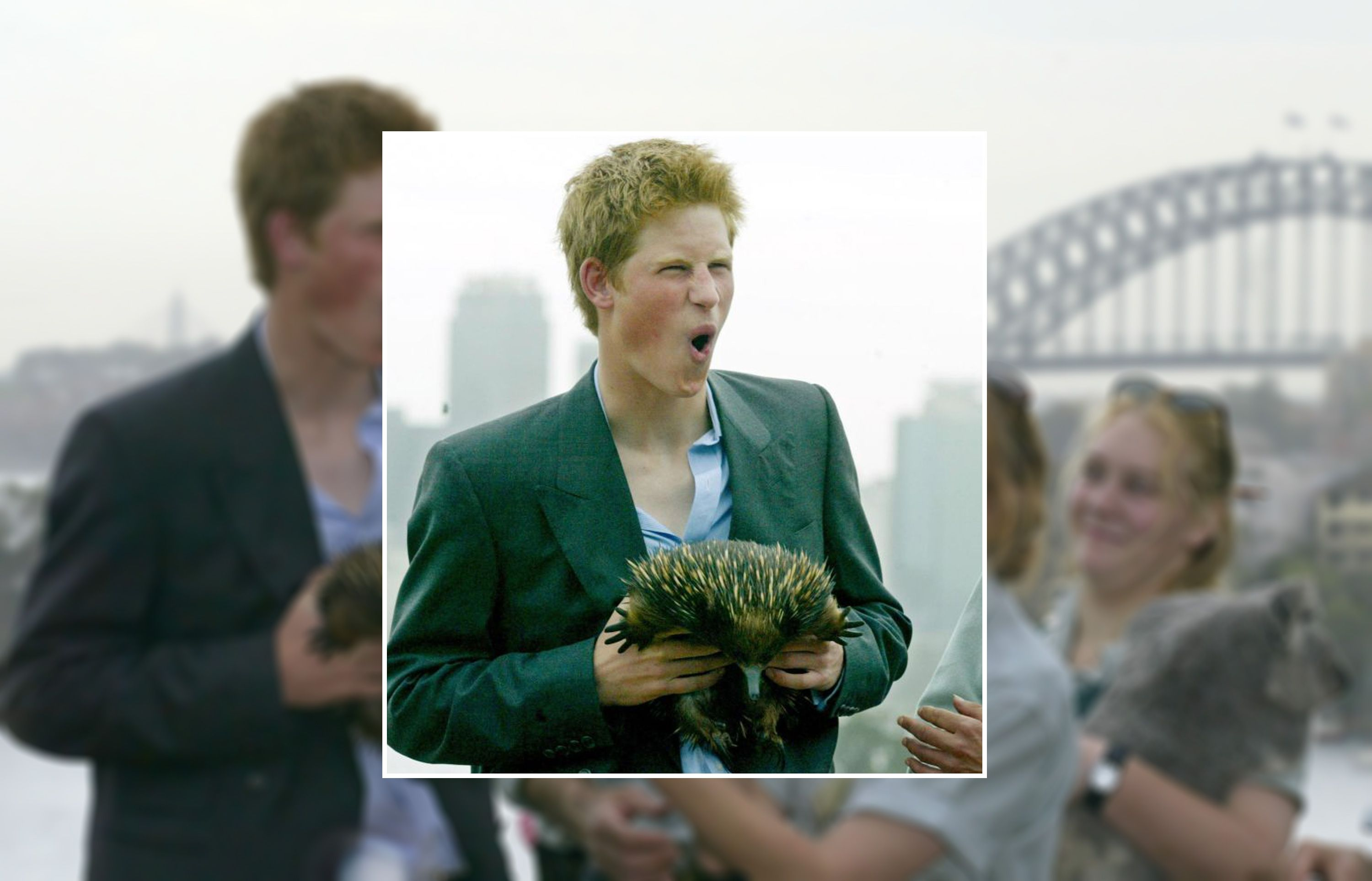 Prince Harry had the time of his life in Australia back in 2003