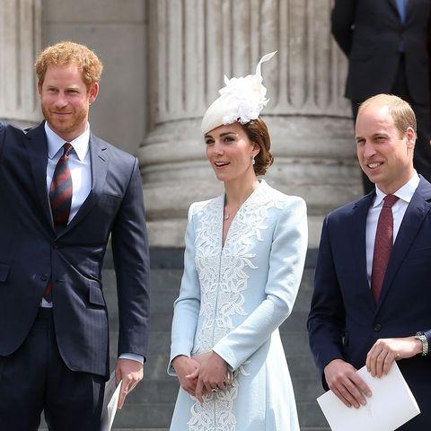 キャサリン妃 ウィリアム王子 ヘンリー王子 メーガン妃 ロイヤルファミリー