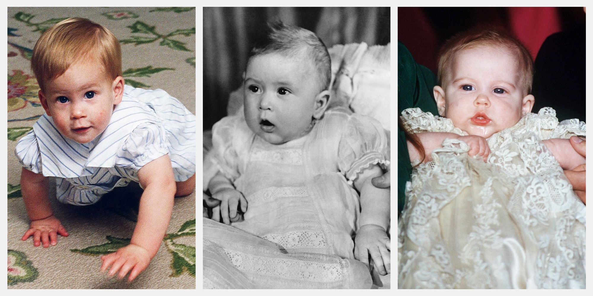 Photos of Queen Elizabeth, Princess Diana, Princess Eugenie, and More Royal Family Members as Babies