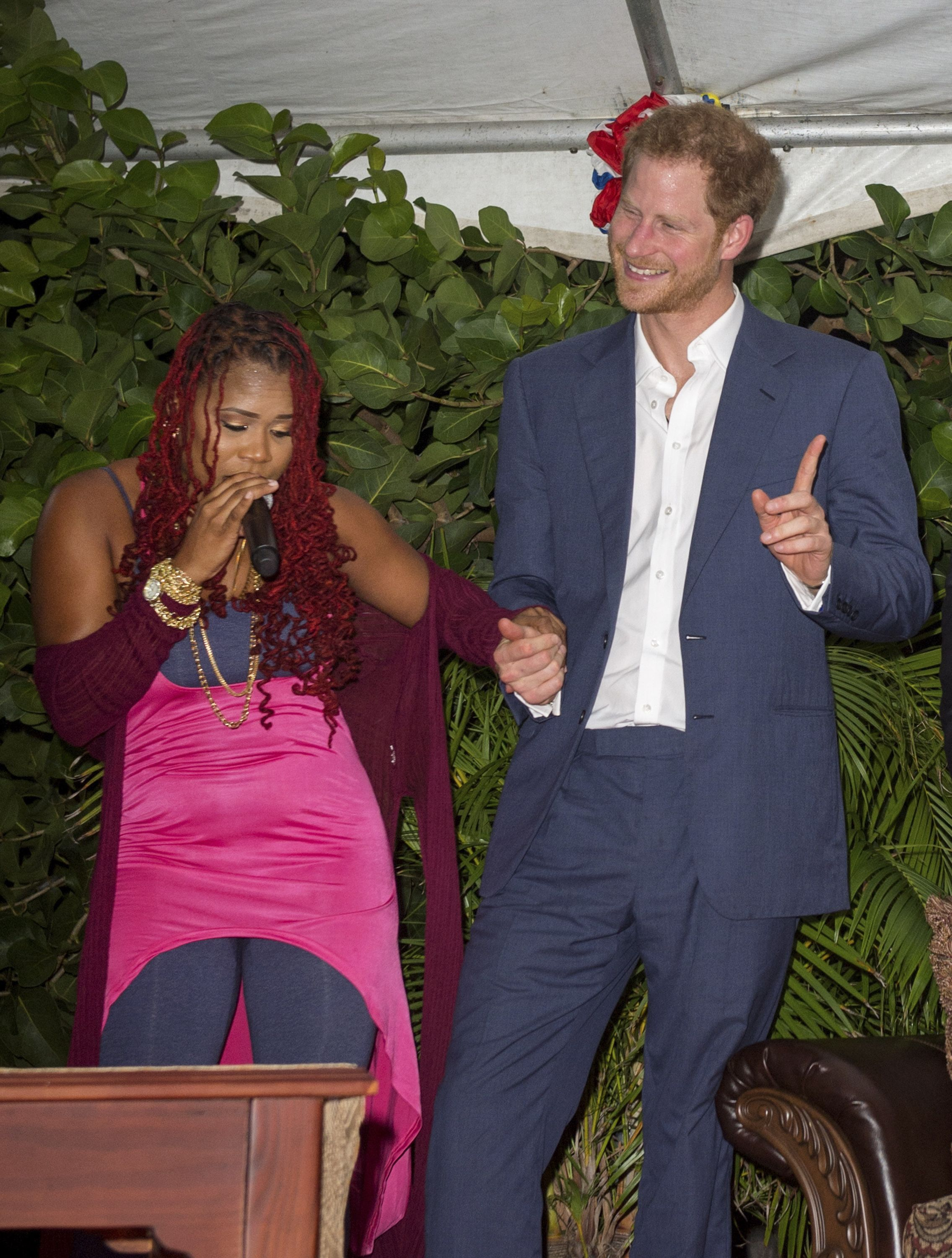 Prince Harry Visits The Caribbean - Day 2