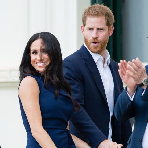 prince harry joked about his future baby s name what will meghan