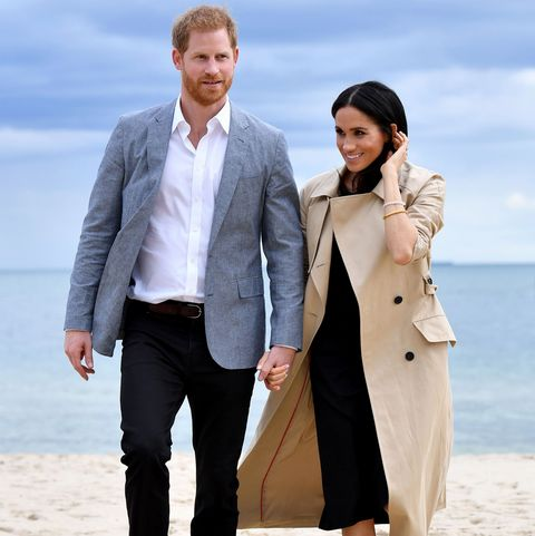Harry de Inglaterra Meghan Markle, con incipiente barriguita, Visita Australia - día  3