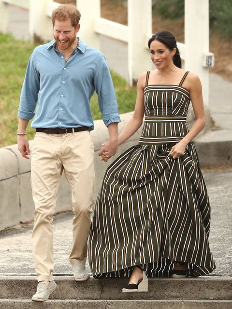 Espadrille wedges by Castaner worn by Meghan Markle