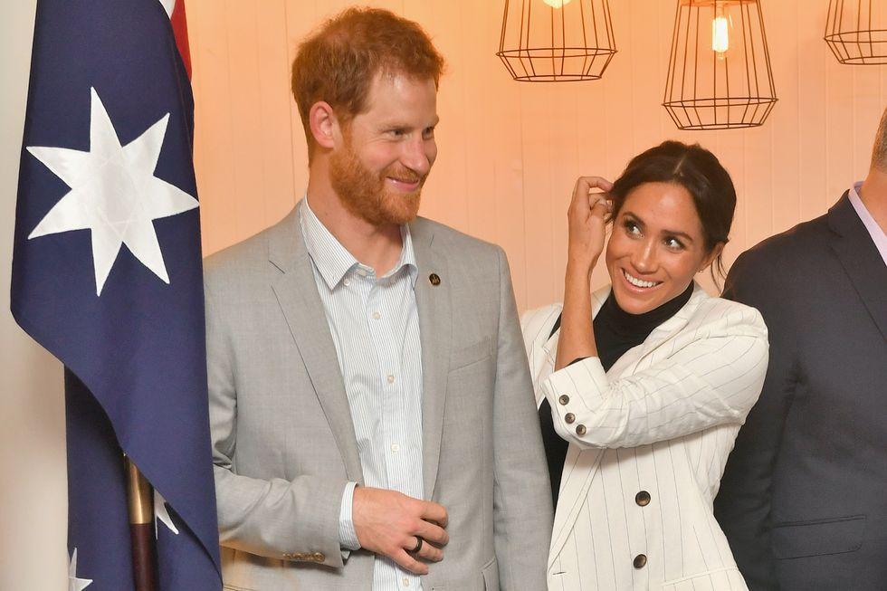 Meghan Markle Does the Prince Harry