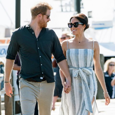 bc0c60cca2 Why Meghan Markle s Reformation Dress Didn t Break Royal Protocol ...