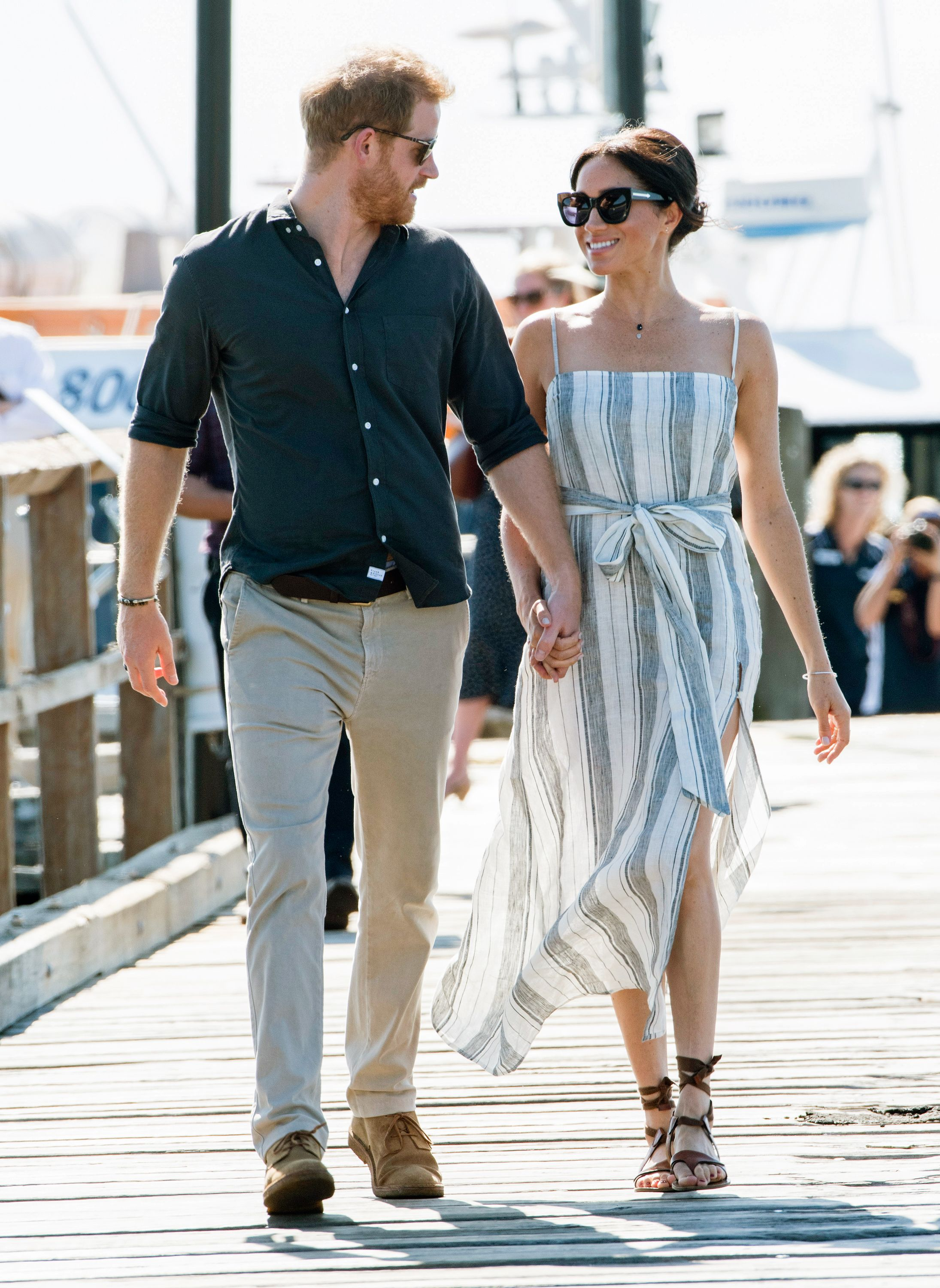 196272ffcf Meghan Markle Wears 2 Affordable Dresses on the Royal Tour of Australia  with Prince Harry