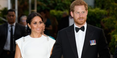 2fec7b7a3f Meghan Markle Wears Stunning White Ball Gown by Irish Brand Theia at ...
