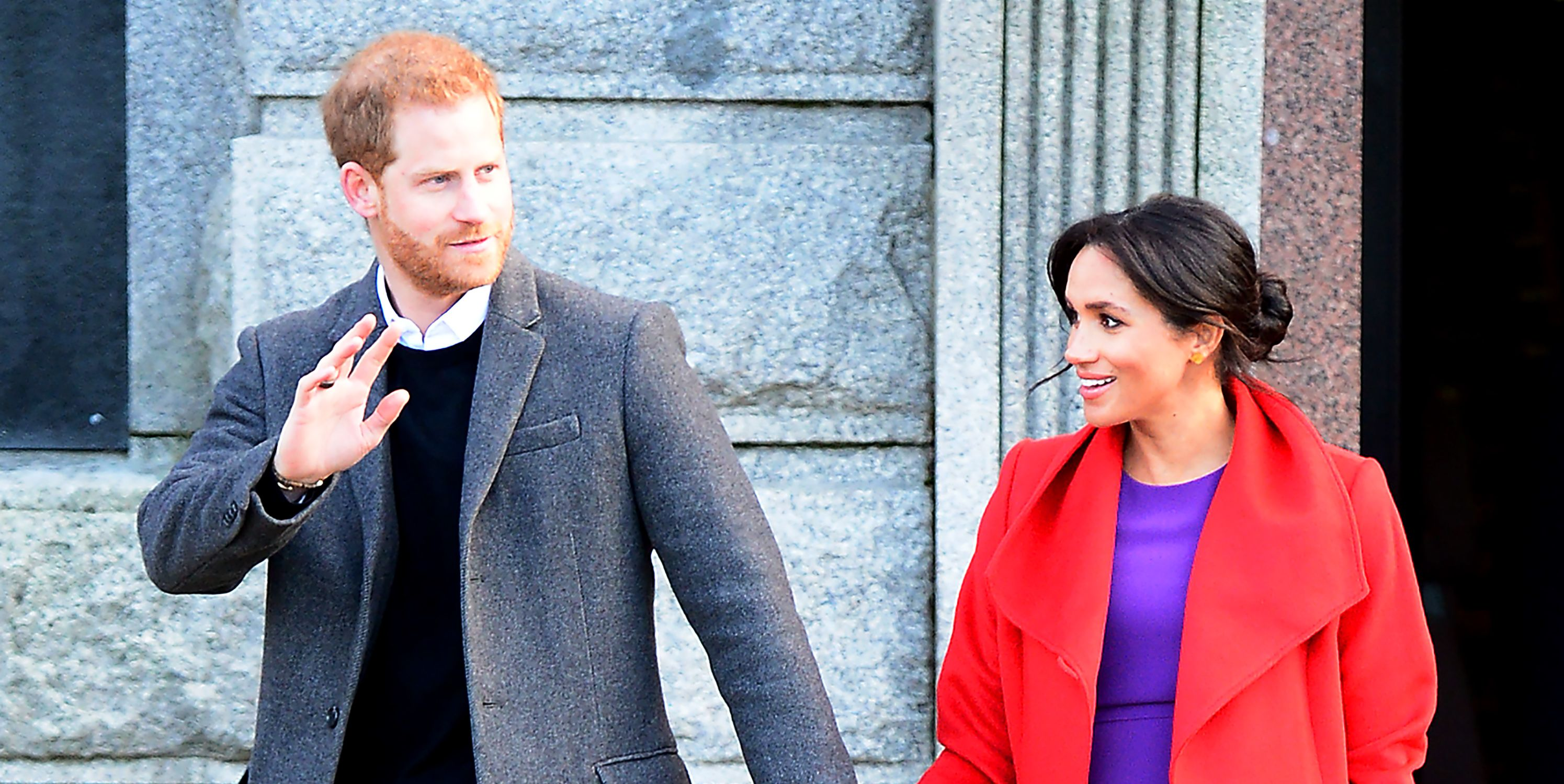 Meghan Markle Prince Harry baby: The Duke And Duchess Of Sussex Visit Birkenhead