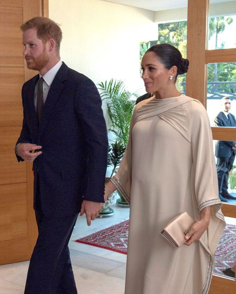 Meghan Markle Bespoke Dior Gown Reception British