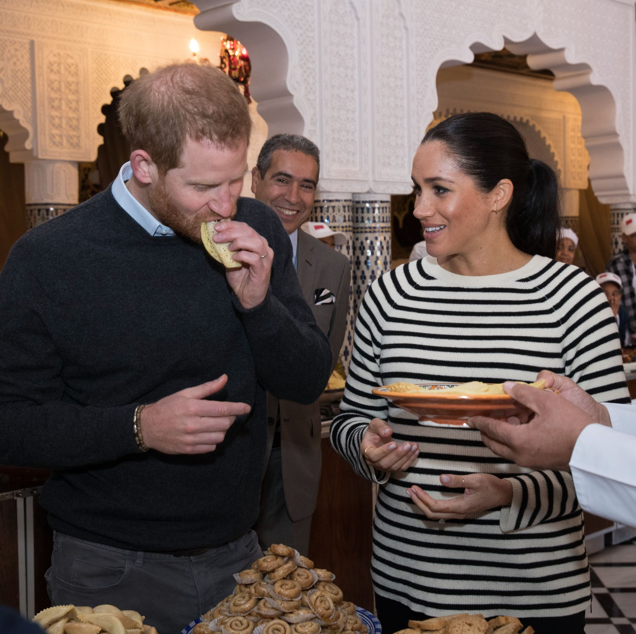 Meghan Markle and Prince Harry Sampled Pigeon During Their Trip to Morocco