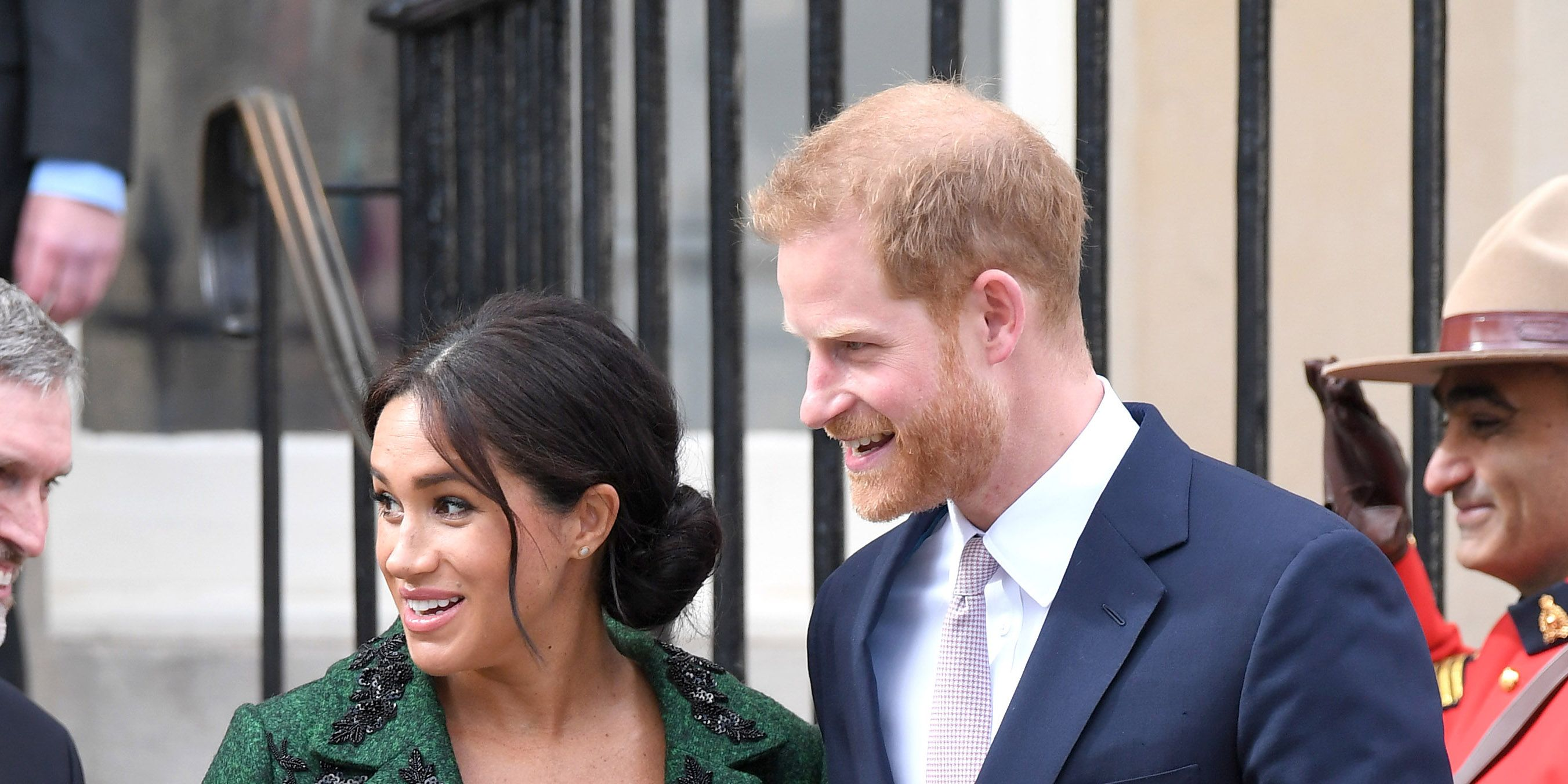 meghan markle prince harryThe Duke And Duchess Of Sussex Attend A Commonwealth Day Youth Event At Canada House