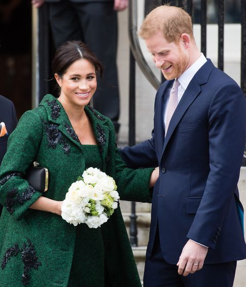 Royal Family Welcomes Prince Harry & Meghan Markle's New