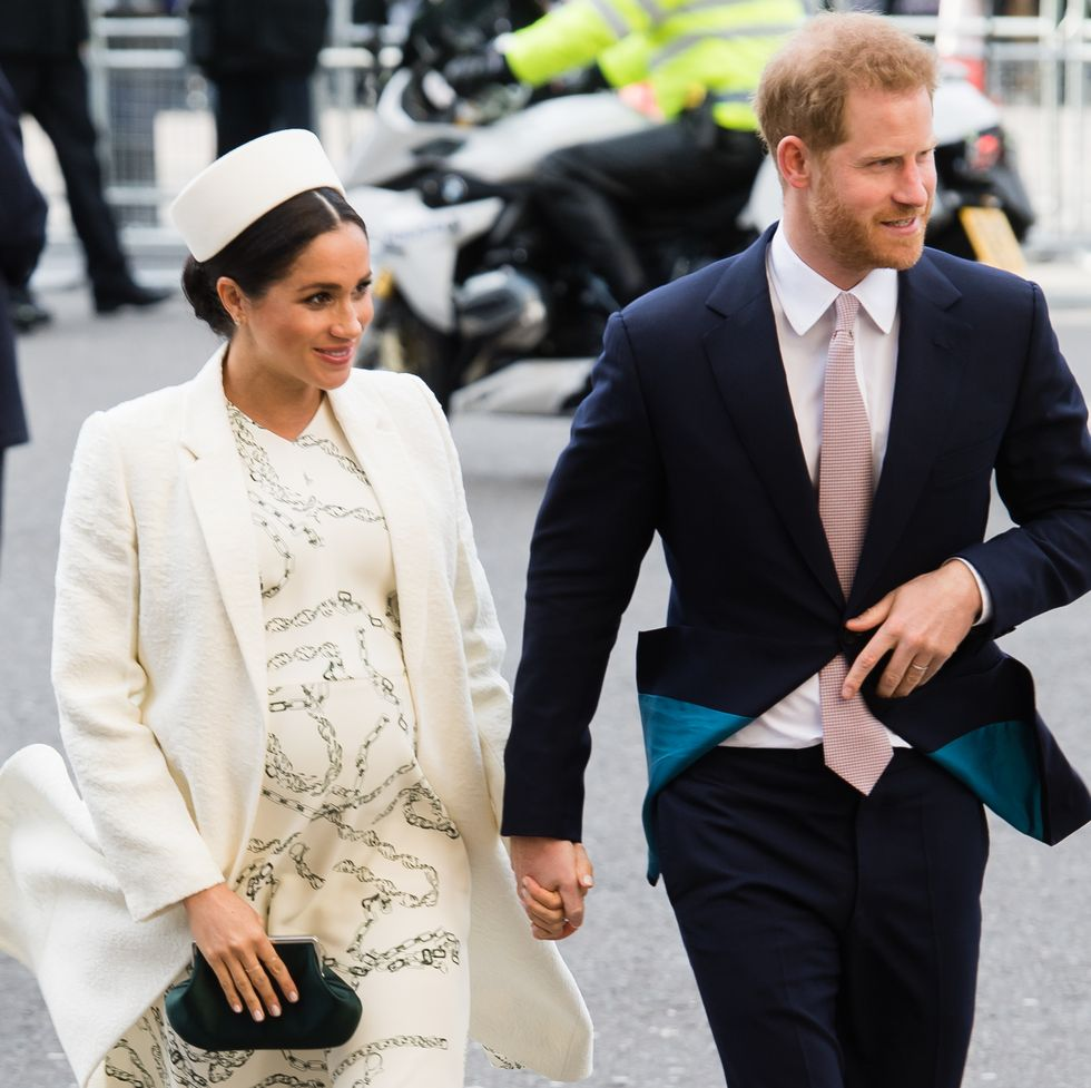 Prince Harry Meghan Markle Commonwealth Day 2019