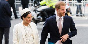 Meghan y Harry Día de la Commonwealth 2019