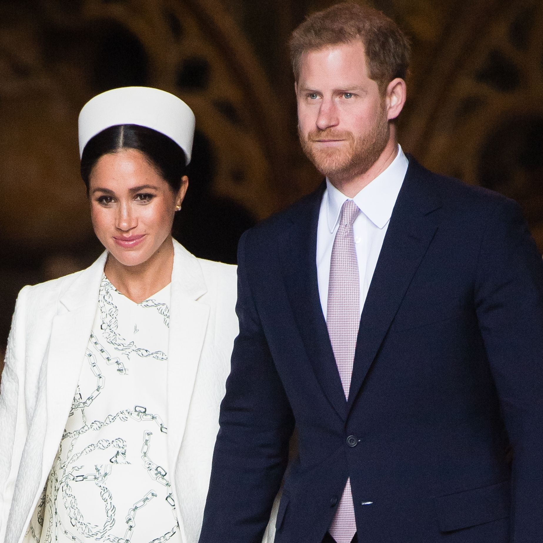"The Queen Allegedly Vetoed Meghan Markle & Prince Harry's Plan to Be ""Entirely Independent"""