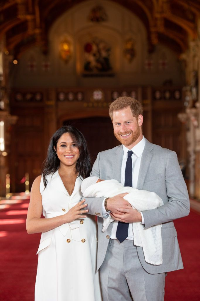 Archie Harrison Mountbatten-Windsor Reportedly Has Red Hair Just Like His Dad, Prince Harry