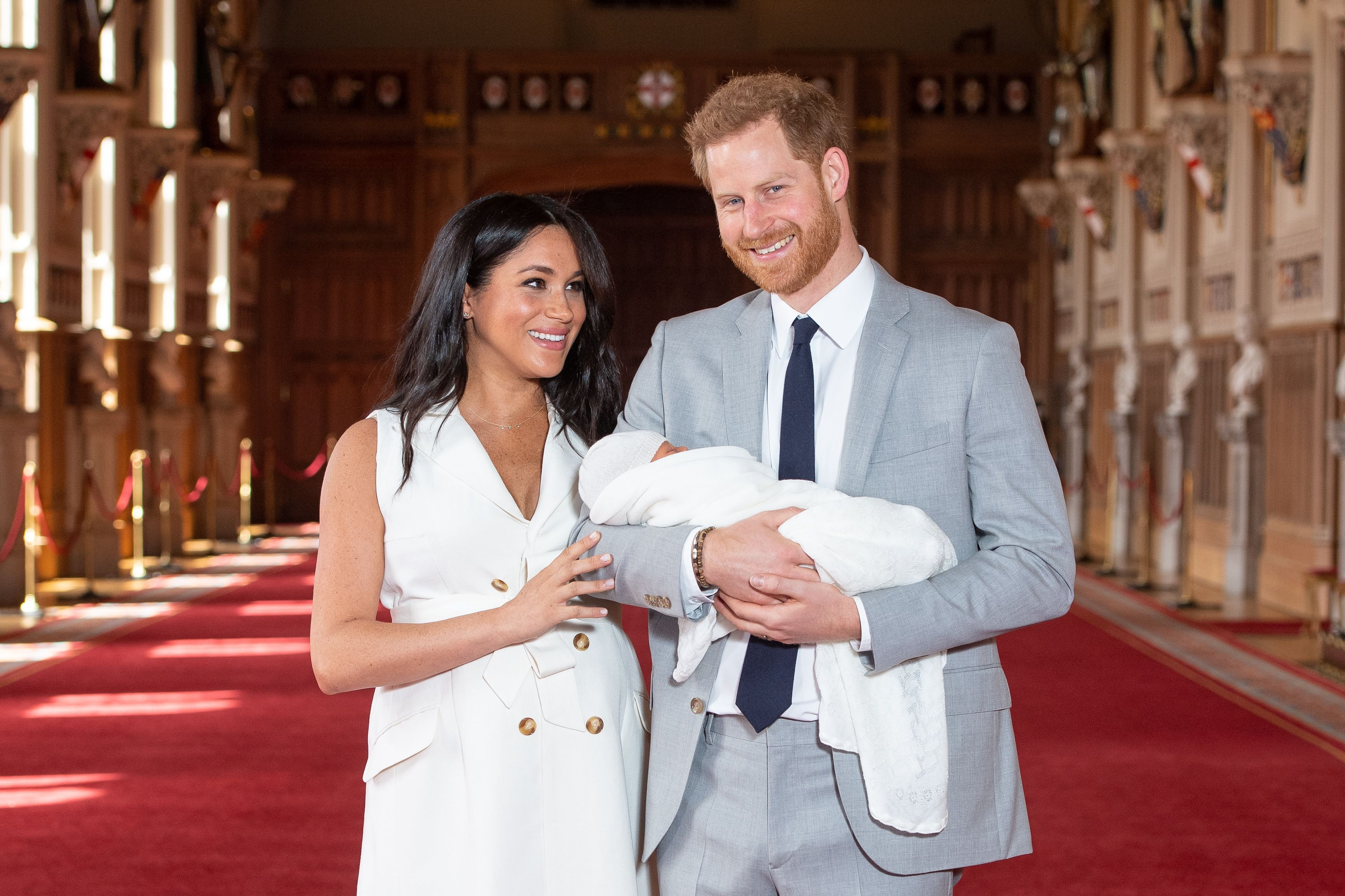 Prince Harry and Meghan Markle Share a Sweet New Photo of Archie (and His Face!) for Father's Day