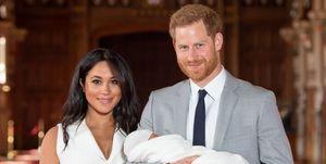 ヘンリー王子&メーガン妃とアーチー