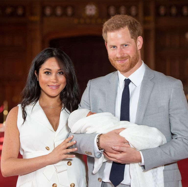 Baby Archie Harrison Has Red Hair Just Like His Dad, Prince Harry