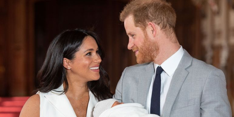 Wait, There's Something Super Awkward About Baby Sussex's Name