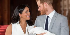 The Duke & Duchess Of Sussex with Archie