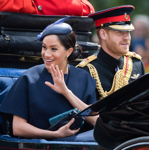 meghan markle new ringTrooping The Colour 2019