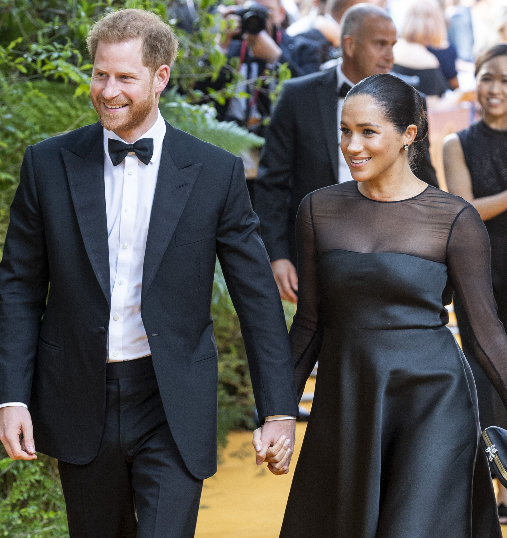 Meghan Markle and Prince Harry Rolled Up to 'The Lion King' Premiere Looking Amazing