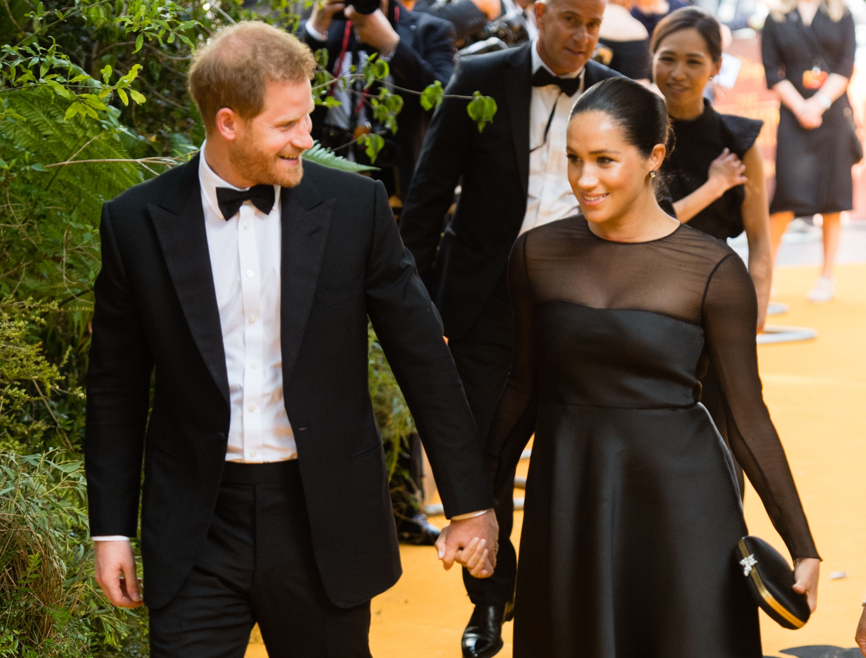 Meghan Markle Seemingly Commented on the Hate She Gets at 'The Lion King' Premiere