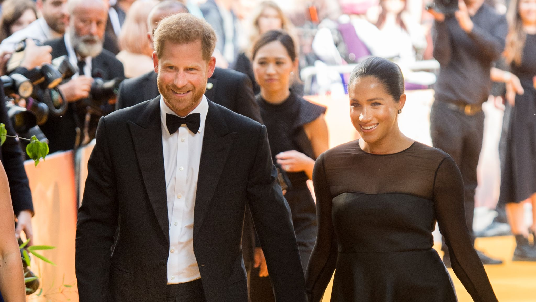 Prince Harry And Meghan Markle Jetted Off To Nice With Baby Archie