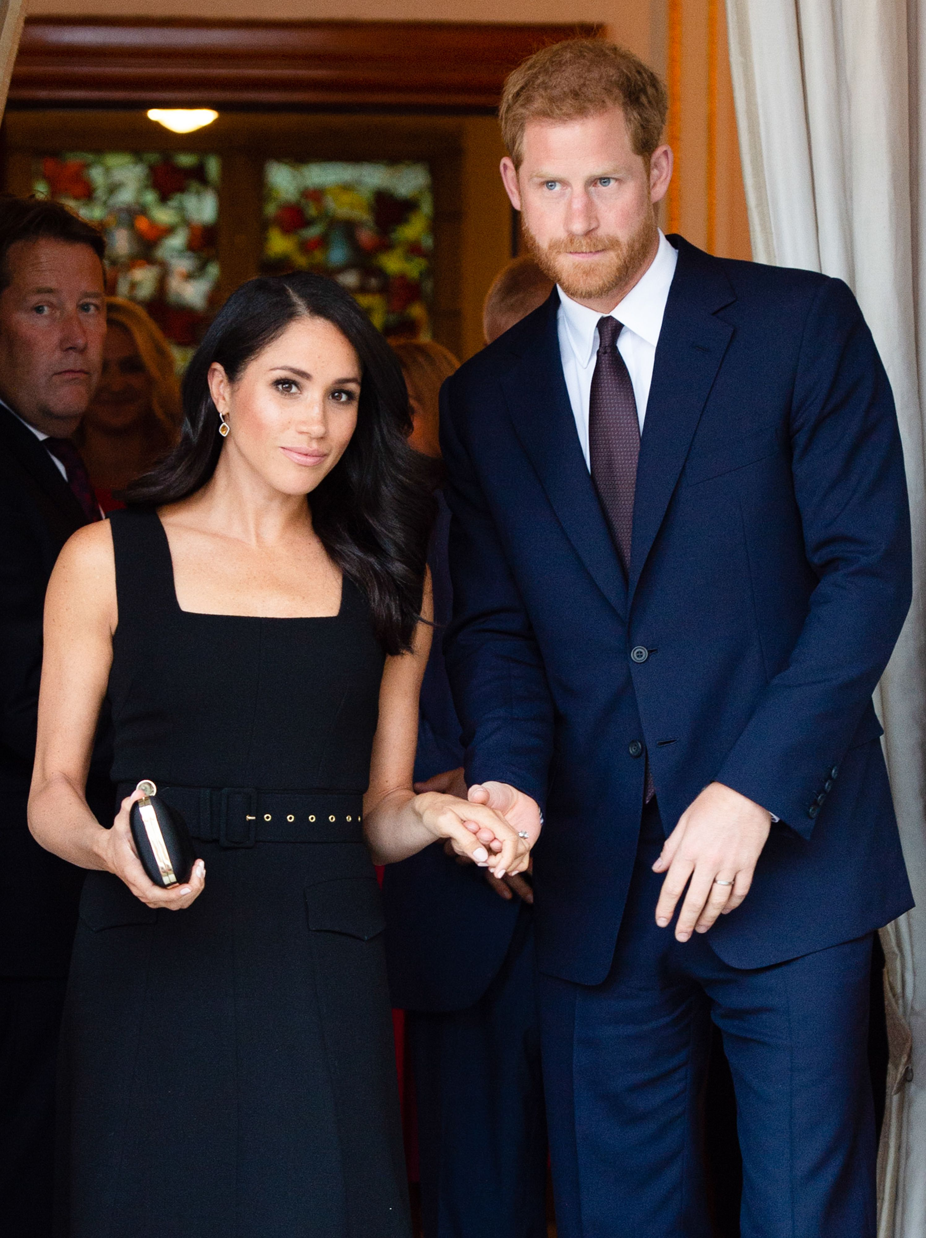 Why Meghan Markle and Prince Harry Weren't Photographed at Misha Nonoo's Pre-Wedding Dinner, but Katy Perry and Karlie Kloss Were