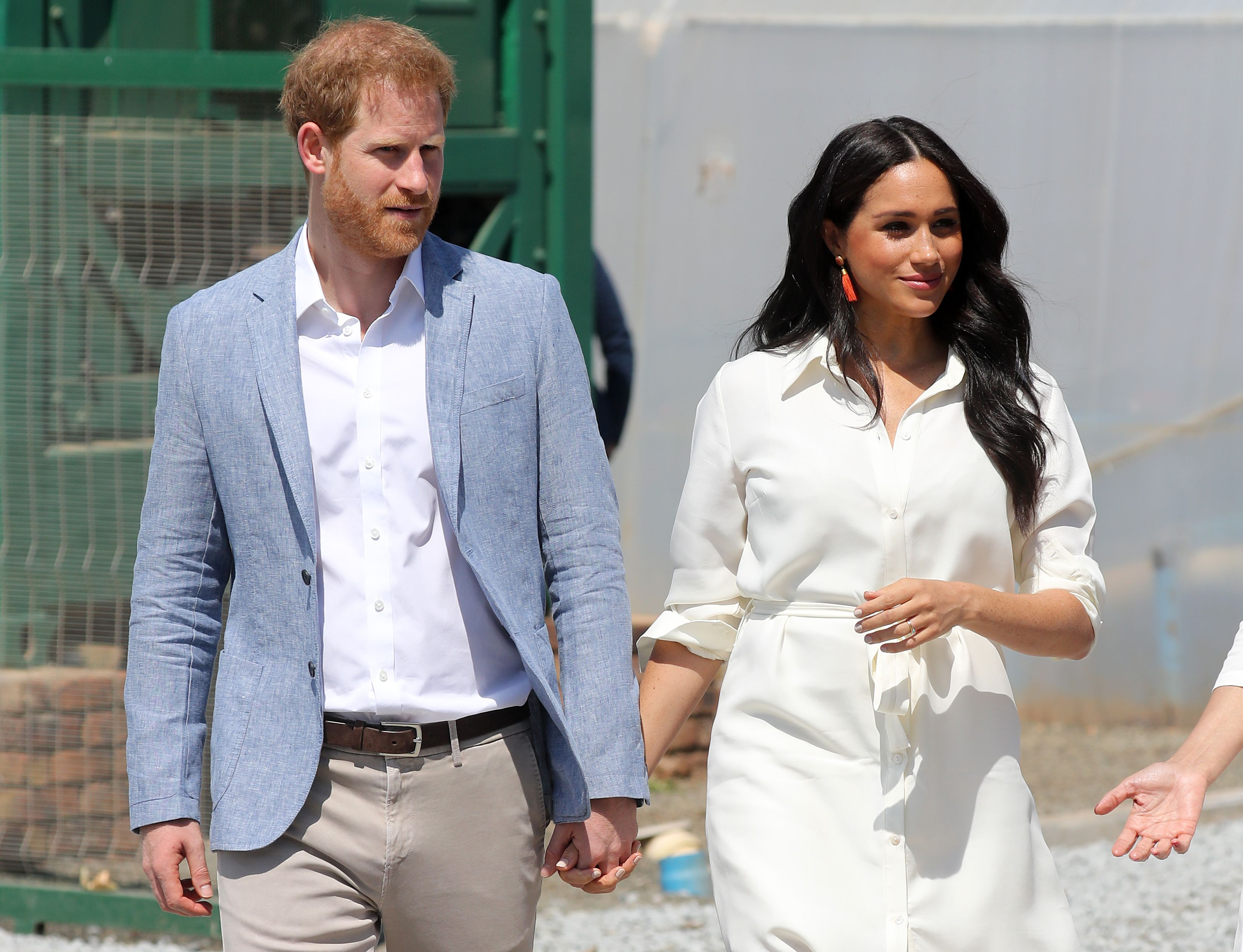 The Duchess of Sussex opens up about missing Prince Harry during their tour split
