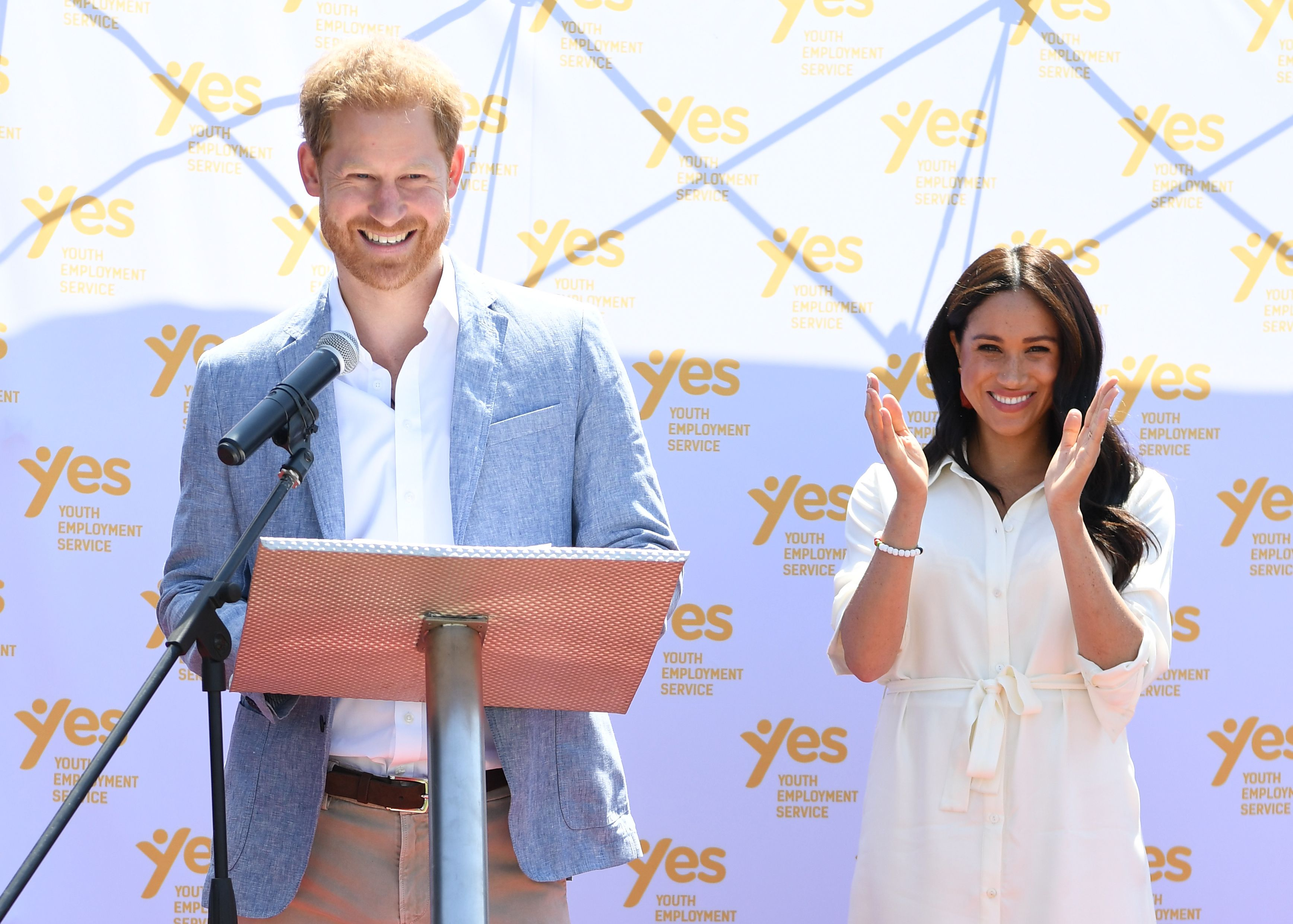 Harry and Meghan's tour of South Africa in pictures