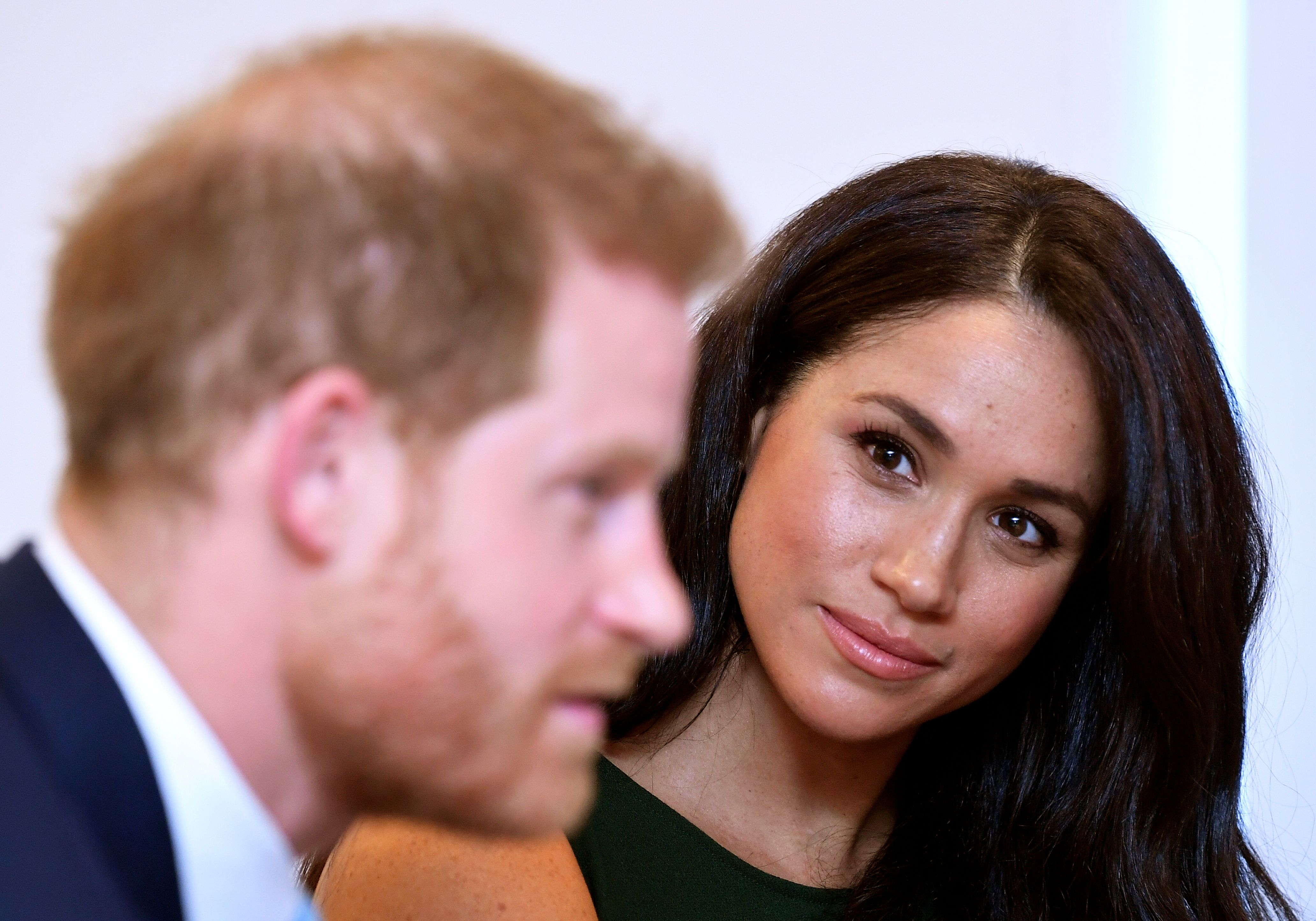 The Duchess of Sussex emotionally opens up about life in the spotlight